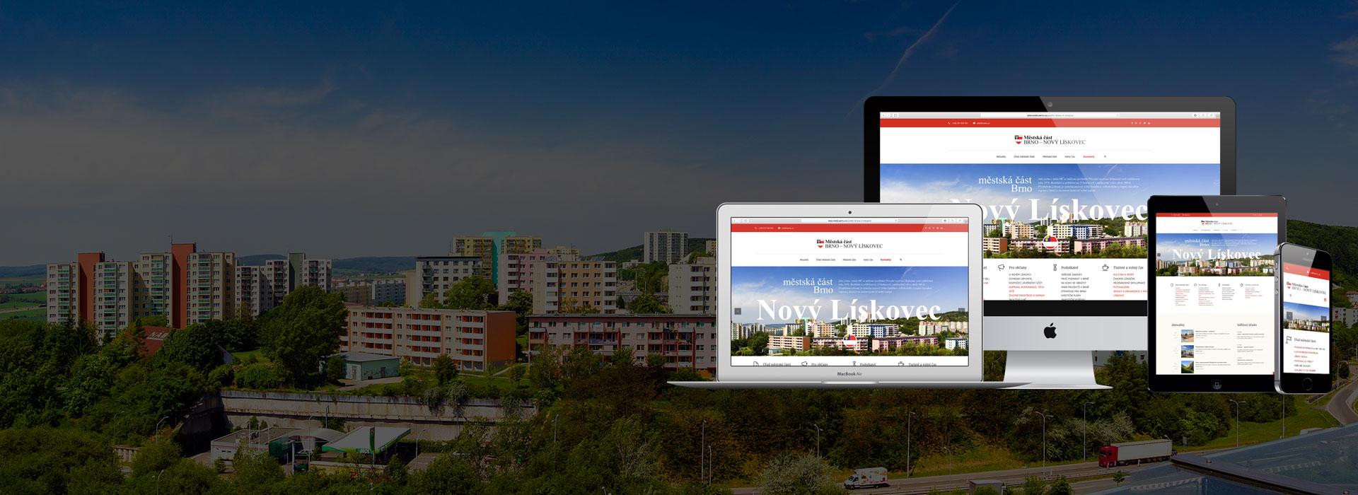 Weby pro města a obce